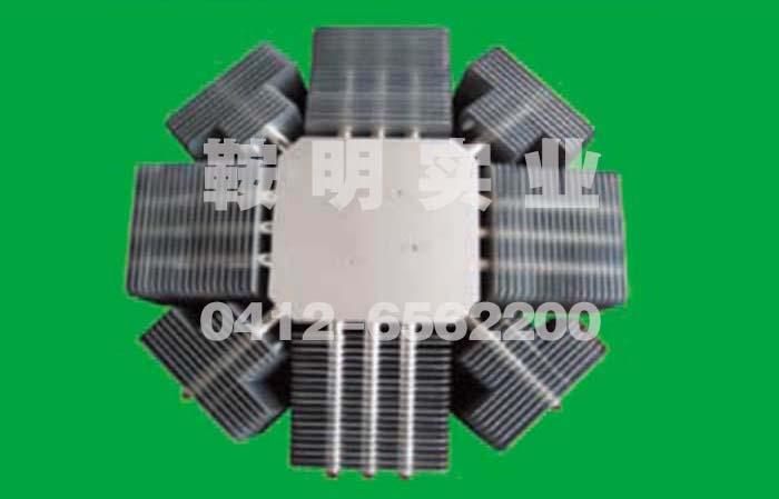 大功率LED热管散热器