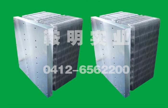 热管散热器安装