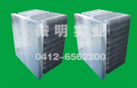 Rectifier heat pipe radiator