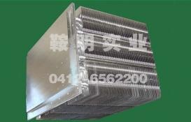 Flameproof heat pipe radiator